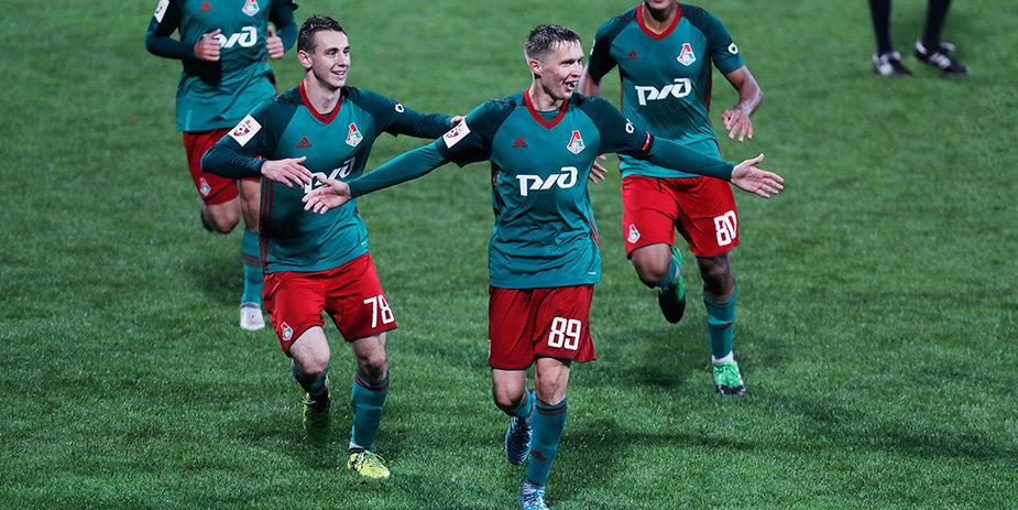 «Локомотив» одолел «Спартак» в молодежном дерби