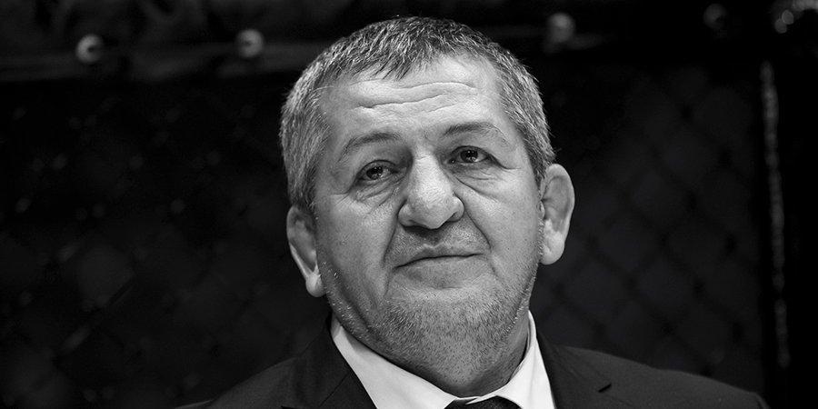 Похороны Абдулманапа Нурмагомедова пройдут в Дагестане