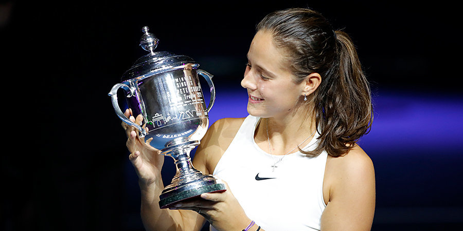 Касаткина поднялась на 5 позиций в рейтинге WTA