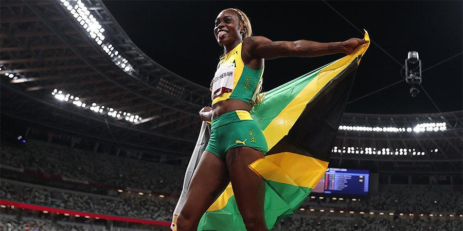 Женская сборная Ямайки завоевала золото ОИ в эстафете 4×100 метров