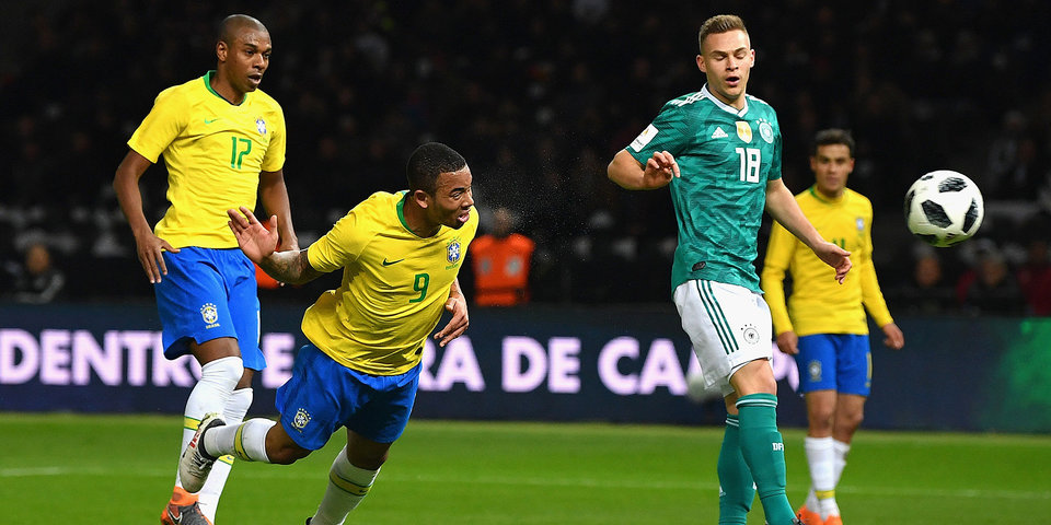 Бразильцы берут реванш за ЧМ-2014. Пока только в товарищеском матче