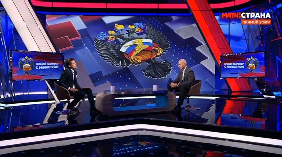«Прямой разговор с министром» Олегом Матыциным — об Играх, инциденте на матче в Грозном, вакцинации и команде Черчесова