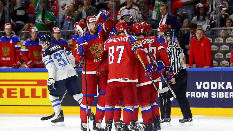 На домашнем этапе Евротура Россия сыграет с Канадой, Швецией и Финляндией