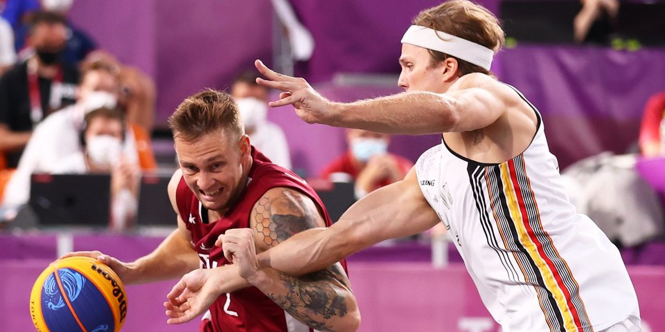 Латвия стала соперником российских баскетболистов 3х3 в финале Олимпиады