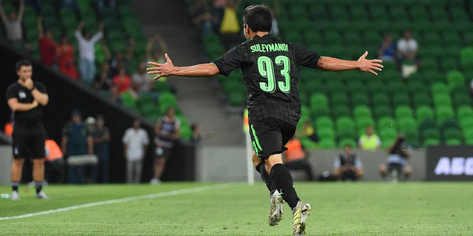 «Краснодар» обыгрывает «Локо» благодаря мячу Сулейманова. Голы и лучшие моменты