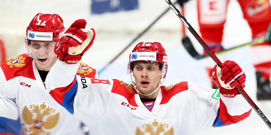 Сборная России первой на МЧМ-2021 не сумела забить Австрии за период и пропустила от них шайбу