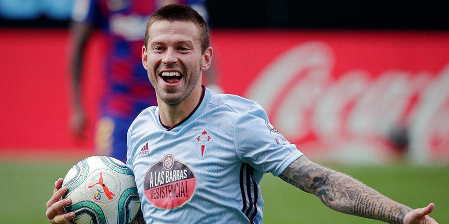 «Машина». Малкин отреагировал на гол Смолова в ворота «Барселоны»