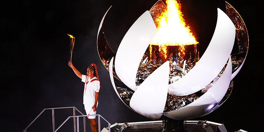 Наоми Осака — о зажжении олимпийского огня: «Это величайшее спортивное достижение в моей жизни»
