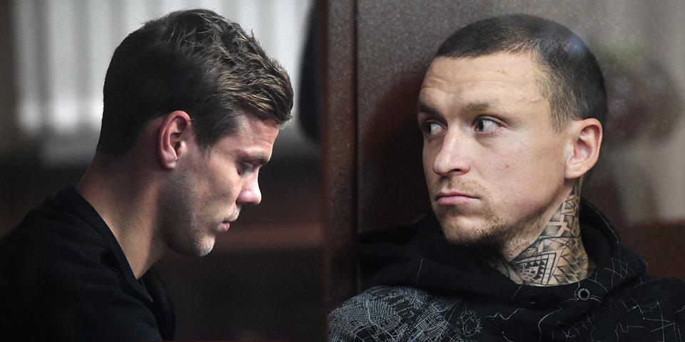В среду по делу Кокорина и Мамаева пройдут заседания в двух судах