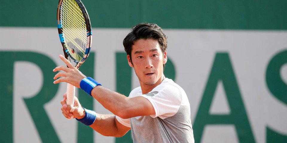 Сугита впервые победил на турнире ATP