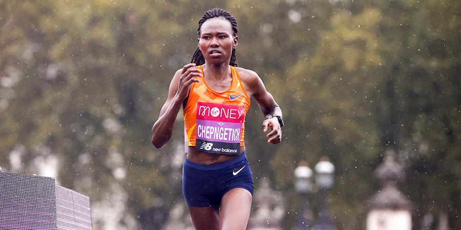 Кенийка Чепнгетич установила мировой рекорд в полумарафоне