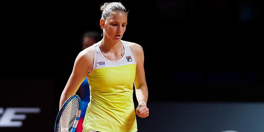 Плишкова — первая полуфиналистка «Уимблдона»