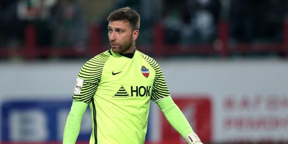 Российский вратарь может продолжить карьеру в Турции или Бельгии