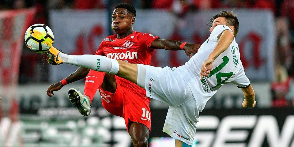 Промес забивает в сотом матче за «Спартак» и приносит победу команде: гол и лучшие моменты