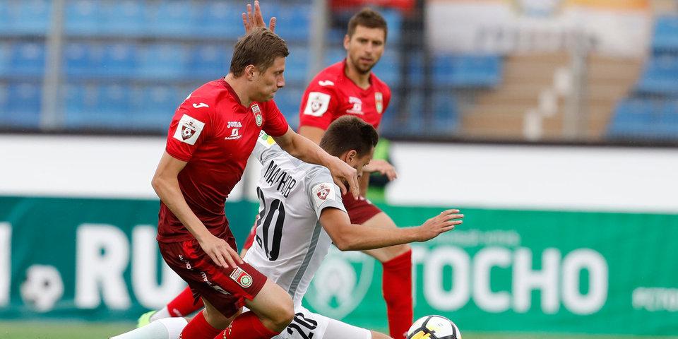«Тосно» проигрывает на «Петровском» в первом матче в премьер-лиге. Видео