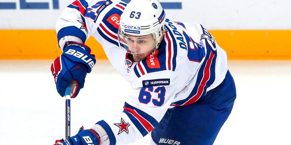Дадонов согласовал контракт с клубом НХЛ «Флорида»