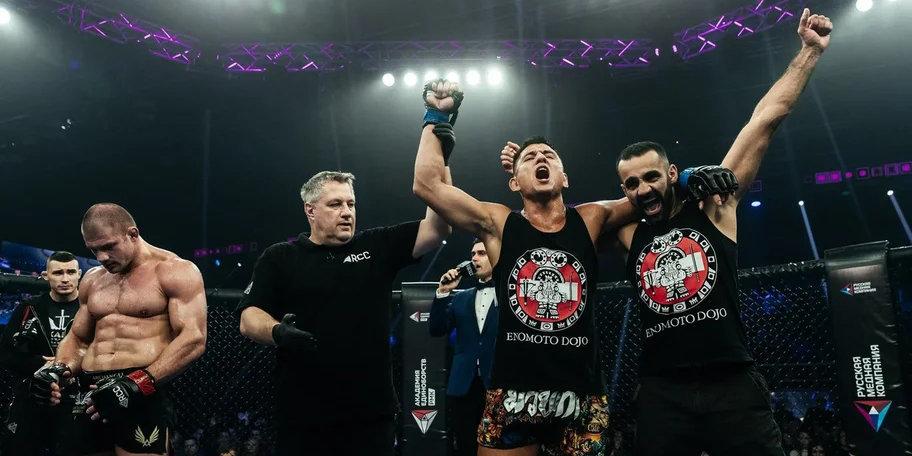 Эномото нанес Штыркову первое поражение в карьере на турнире RCC