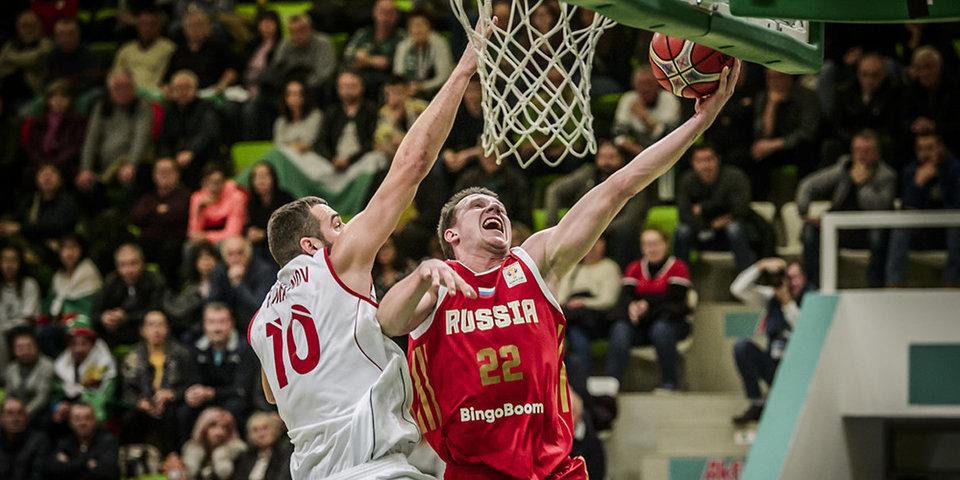 Сборная России разгромила Болгарию в квалификации ЧМ