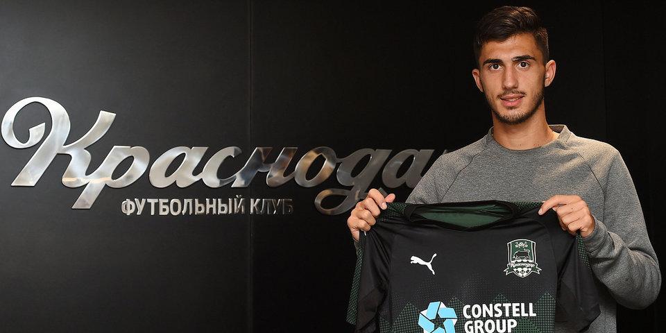 Иван подписал контракт и выбрал 9-й номер в «Краснодаре»