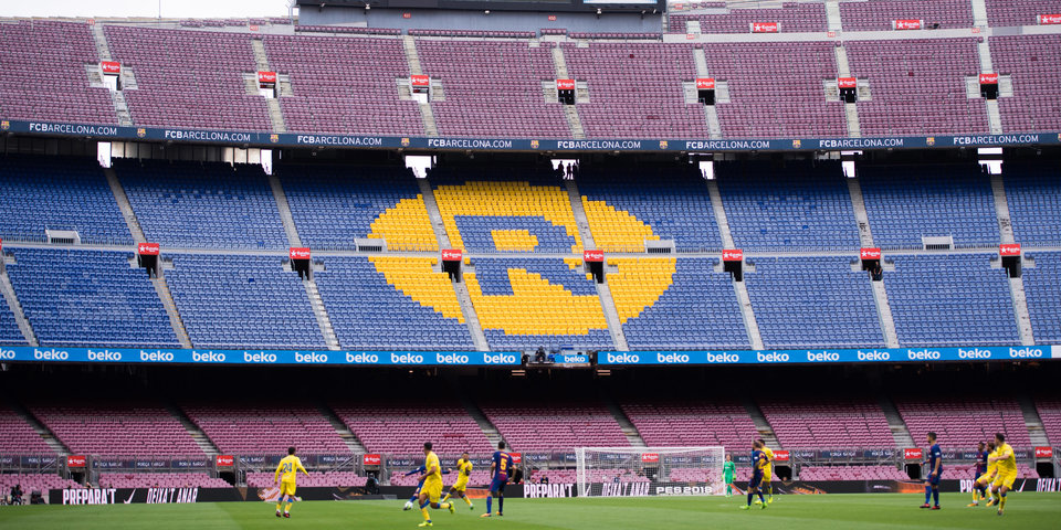 «Барселона» обыграла «Лас-Пальмас» при пустых трибунах «Камп Ноу»