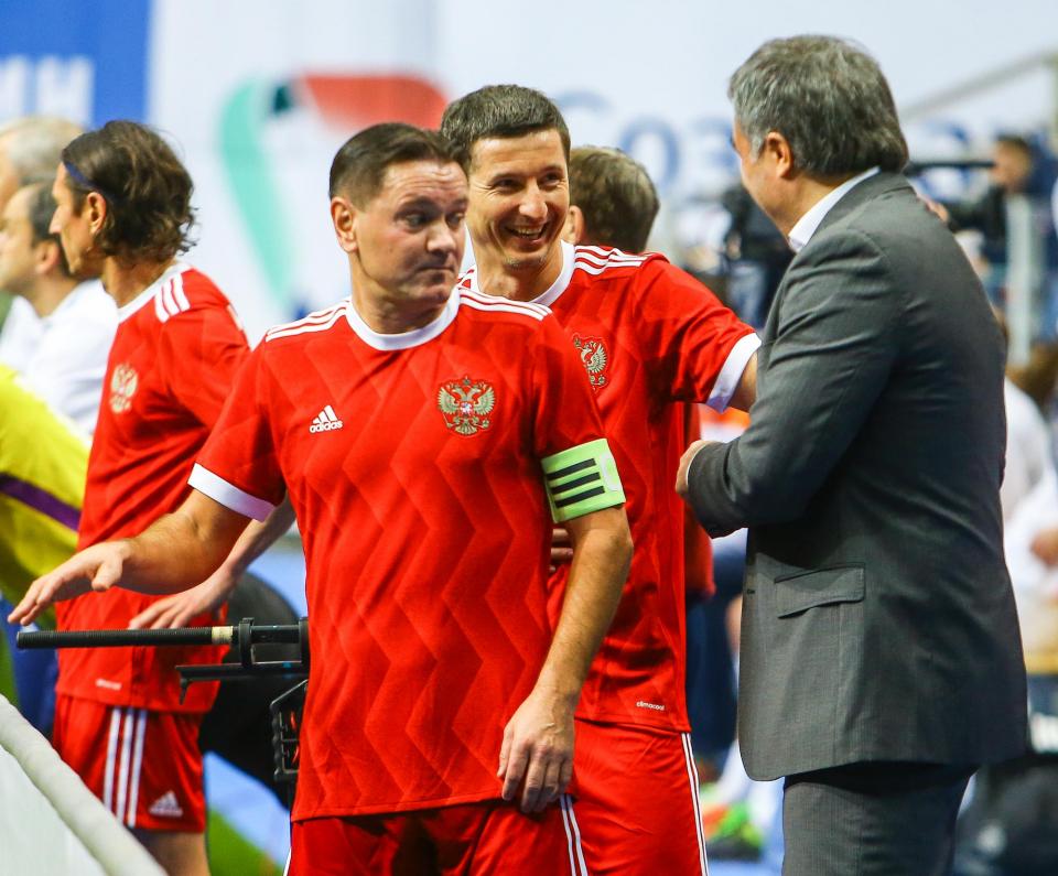Сборная России выиграла юбилейный Кубок легенд