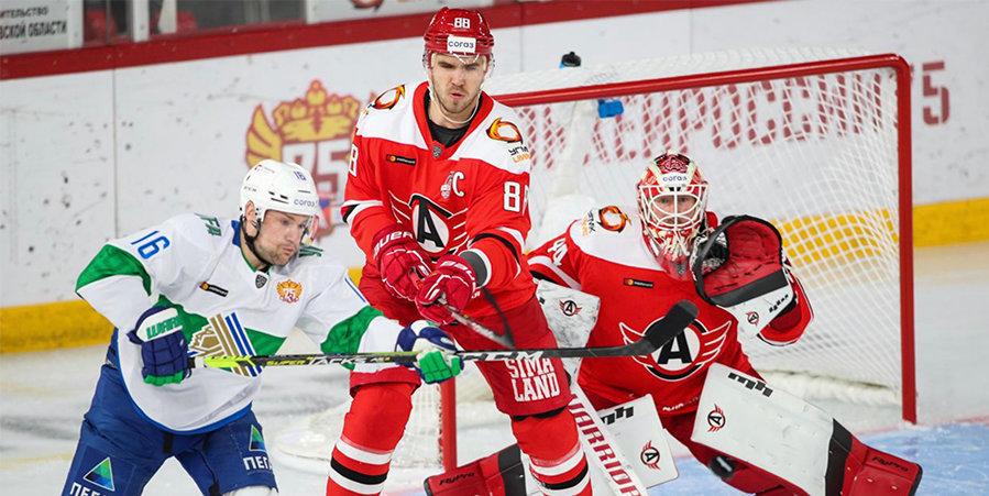 «Салават Юлаев» одержал вторую победу над «Автомобилистом» в сезоне