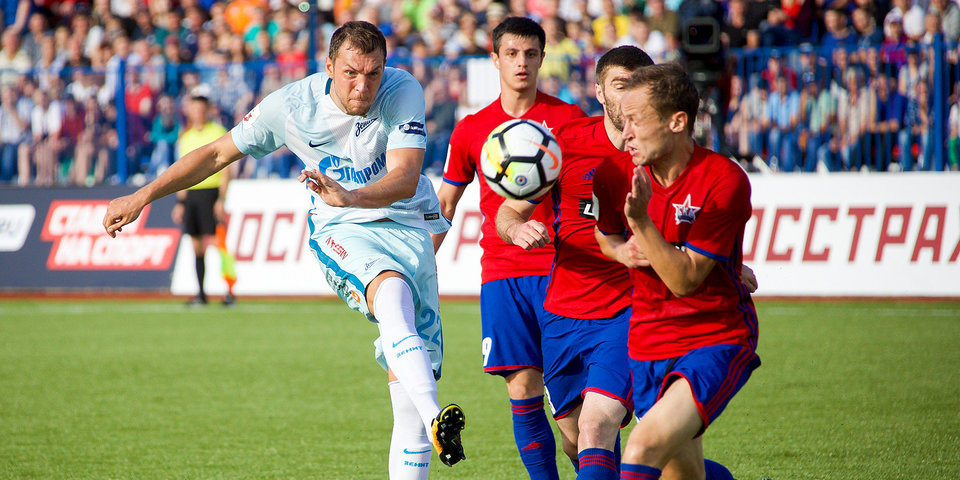 Виталий Мутко: «Игроки «Зенита» и СКА подарили зрителям большой праздник»