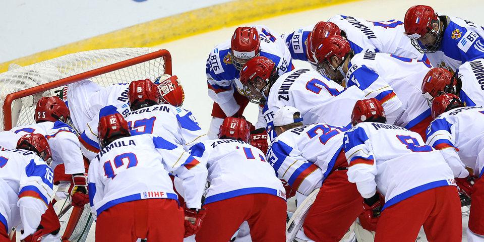 Юниорская сборная России довела до победы отложенный матч Кубка вызова