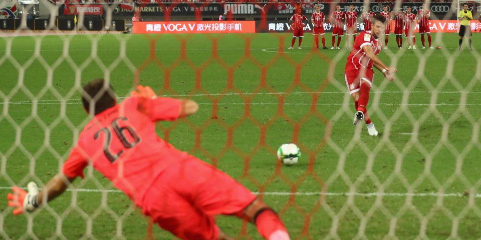 Ивоби и резервный вратарь спасают «Арсенал» в матче с «Баварией»