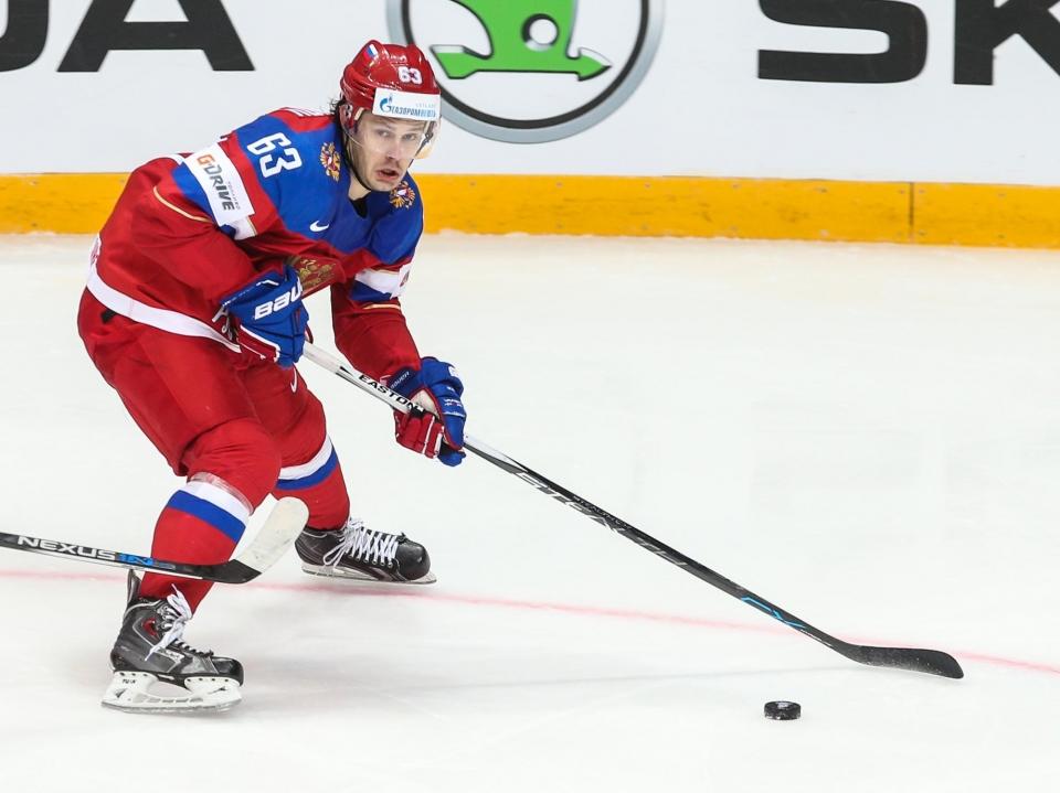 Евгений Дадонов: «Не очень хорошо, что соперники не доставляют проблем в обороне»