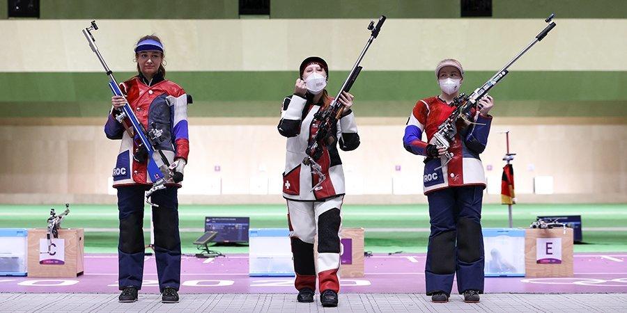 Зыкова и Каримова выиграли серебро и бронзу Олимпийских игр в пулевой стрельбе