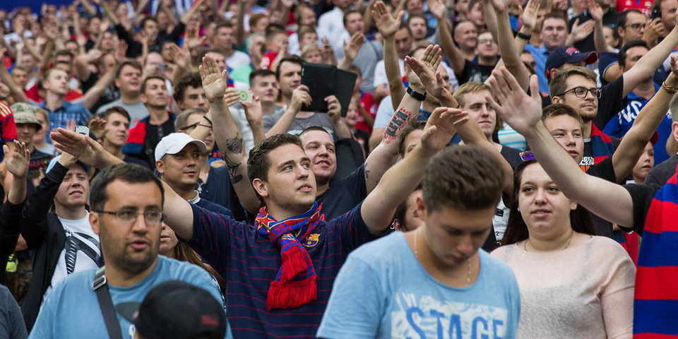 ЦСКА: «В отличие от других, мы вручаем медали в присутствии болельщиков»