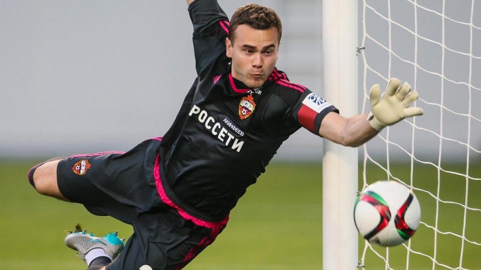 Акинфеев пропустил в 41-м матче Лиги чемпионов подряд