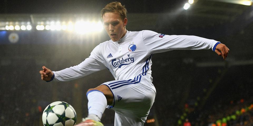 Хет-трик Павловича принес «Копенгагену» волевую победу над «Жилиной» в Лиге чемпионов