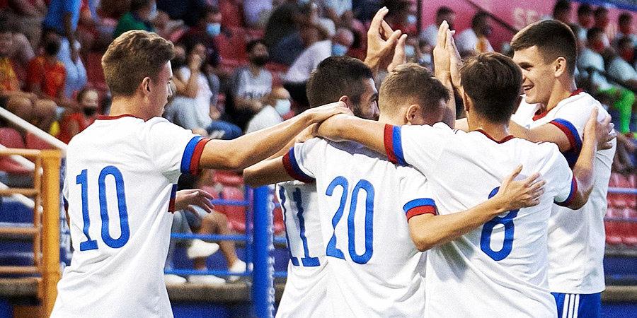 Молодежная сборная России забила 6 голов в ворота Мальты в отборе на Евро