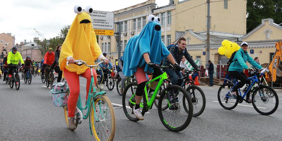 19 мая в Москве пройдет весенний велофестиваль