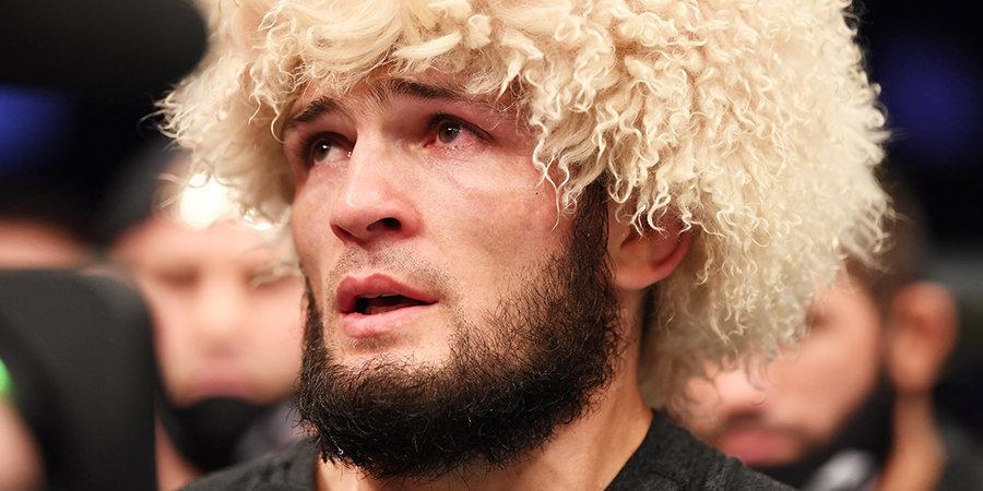 Спаллетти использовал шапку Хабиба в новогоднем поздравлении и назвал россиянина символом борьбы в 2020 году