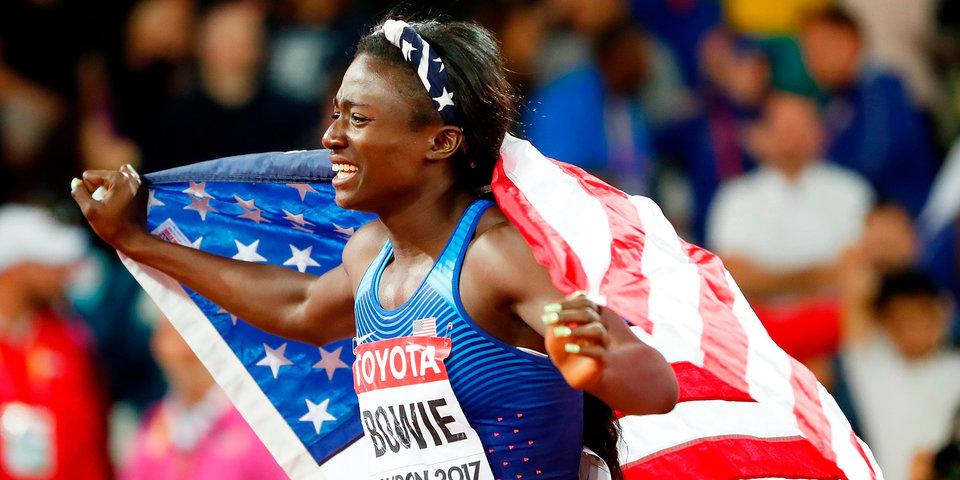 Боуи – чемпионка мира на дистанции 100 метров