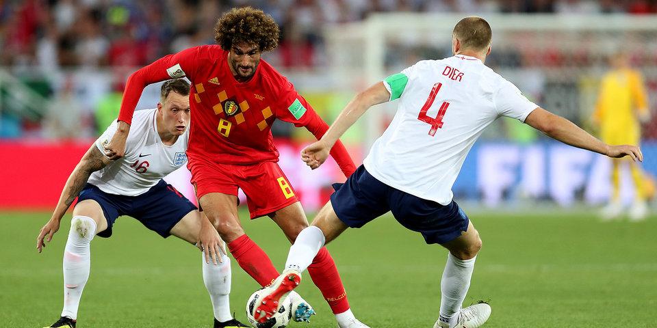 Англия сыграет с Колумбией в 1/8 финала после поражения от Бельгии