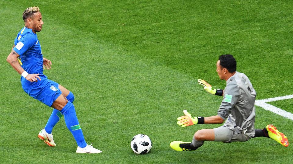 Бразилия дожала Коста-Рику лишь в добавленное время, Неймар разрыдался на поле
