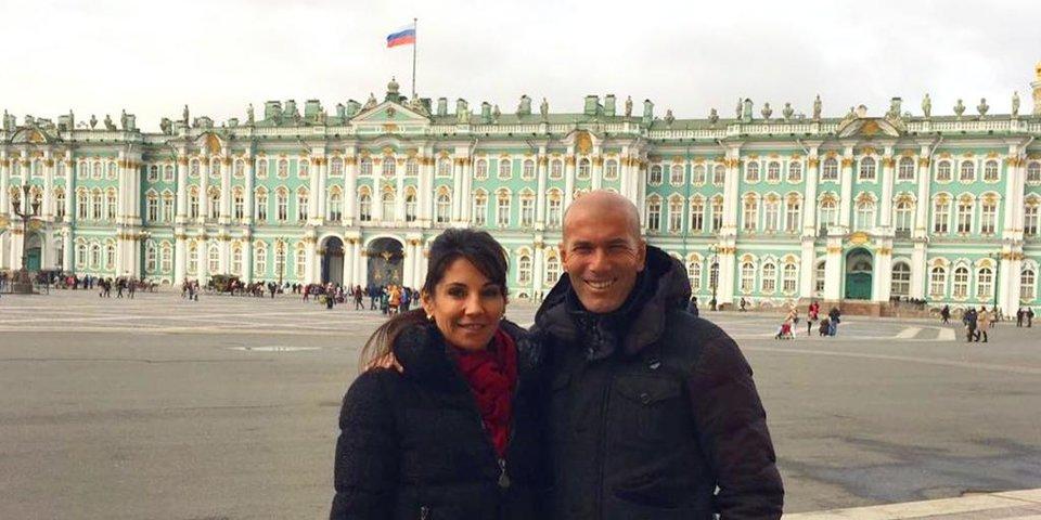 Один день Зидана в Санкт-Петербурге