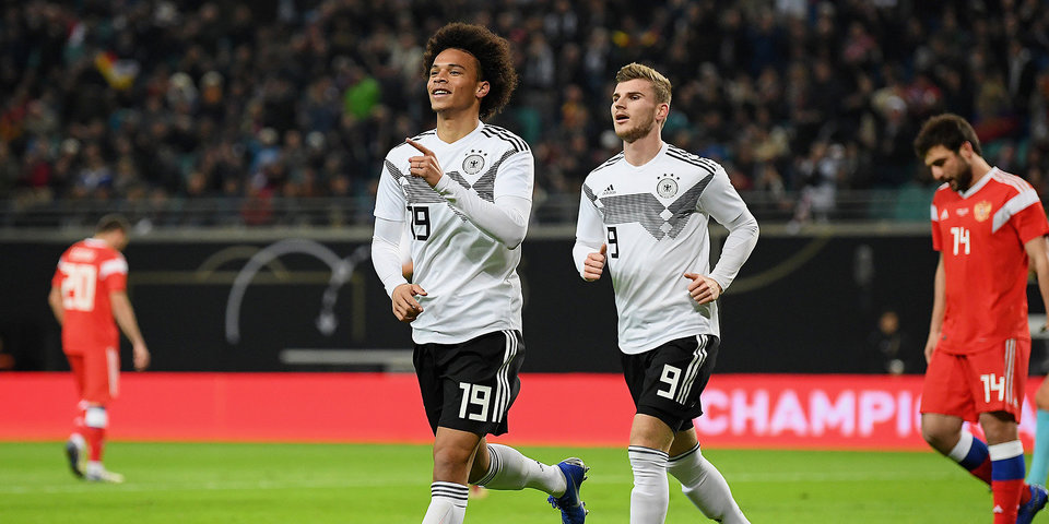 Лерой Зане: «В последних матчах сборная Германии делает хорошие шаги вперед»