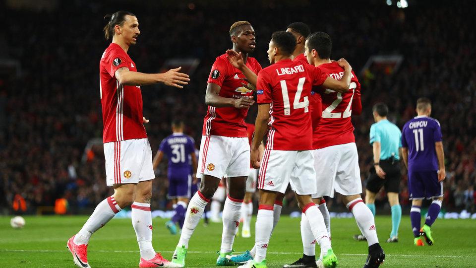 «Манчестер Юнайтед» сыграет против «Сельты» в полуфинале Лиги Европы