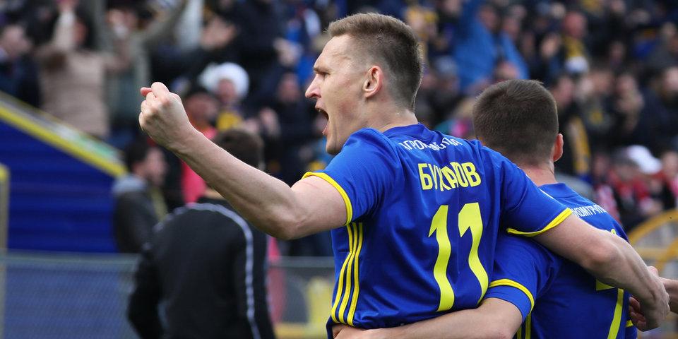 Бухаров забил лучший гол апреля по версии зрителей программы «После футбола» с Георгием Черданцевым