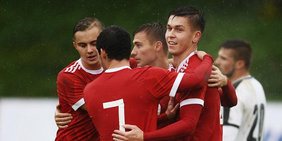 Гол Жемалетдинова позволил России обыграть австрийцев в матче отбора к Евро-2019