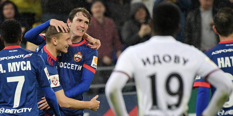 Чалов сделал дубль и приблизил ЦСКА к «Спартаку»