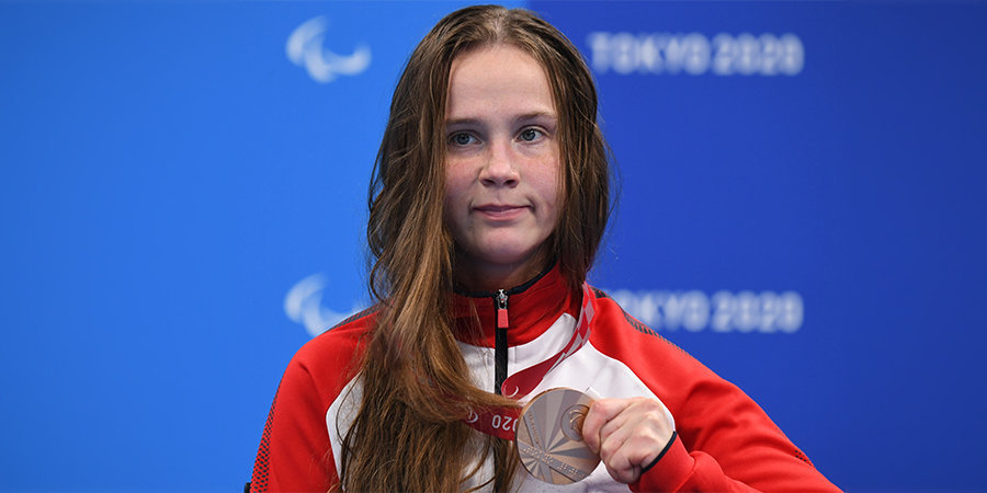 Пловчиха Шишова – бронзовый призер Паралимпиады