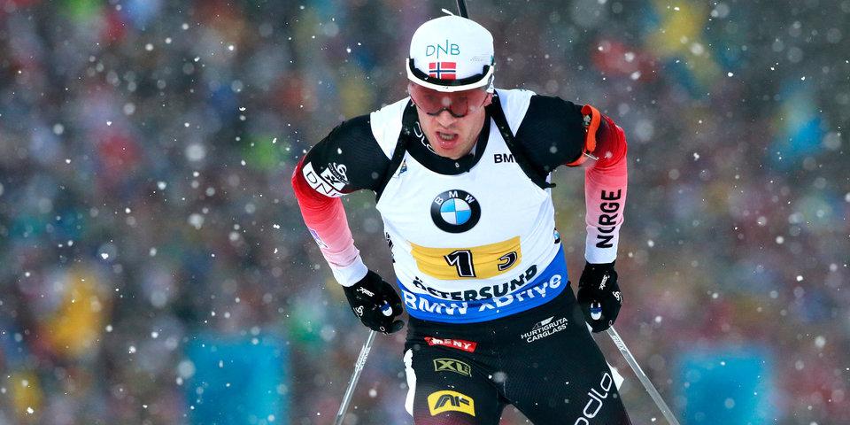 Тарьей Бё: «Трудно быть четвертым, когда золото у человека, которого дисквалифицировали за допинг»