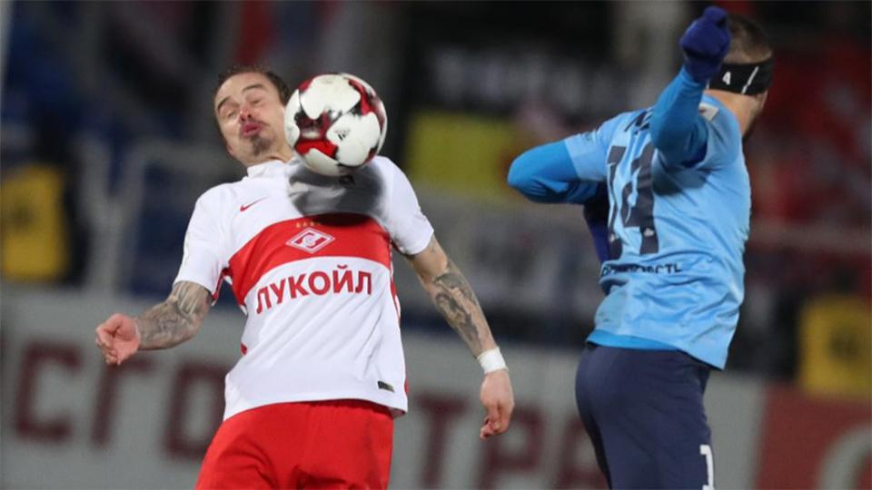 «Спартак» уступил «Крыльям» в Самаре, пропустив 4 мяча