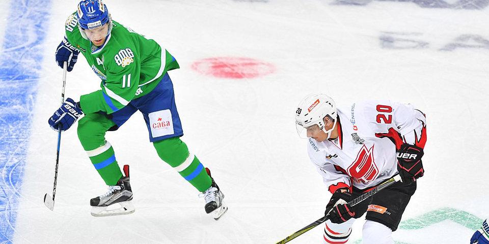 «Салават Юлаев» переиграл «Авангард» и вышел в четвертьфинал Кубка Гагарина